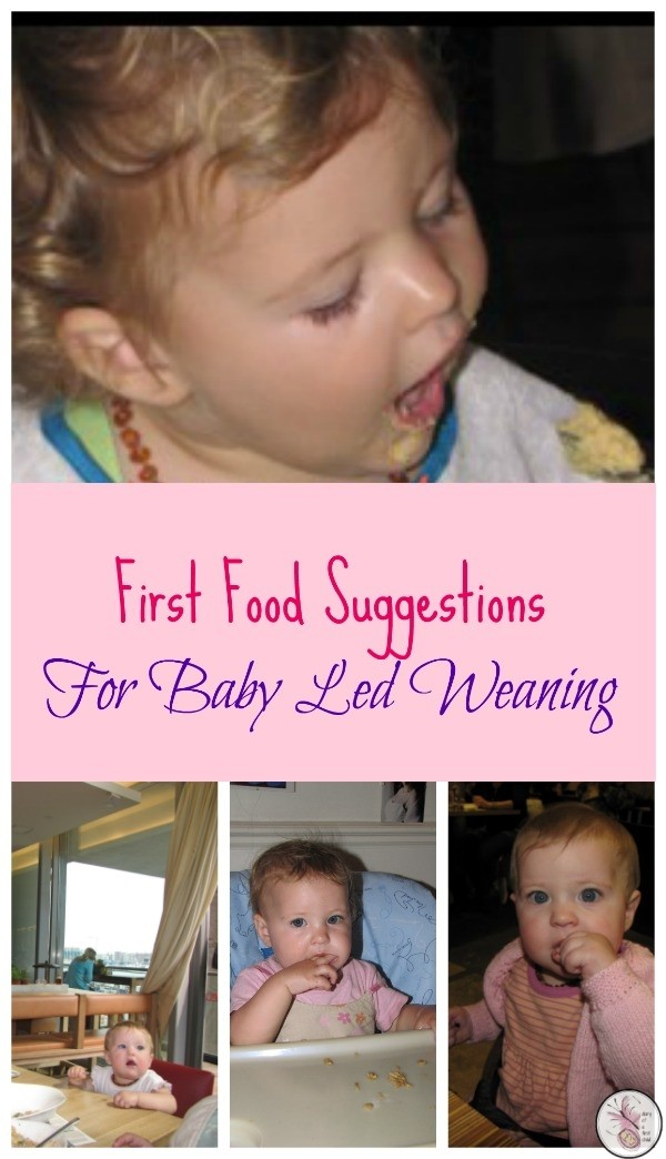 Baby Led Weaning: First Food Suggestions