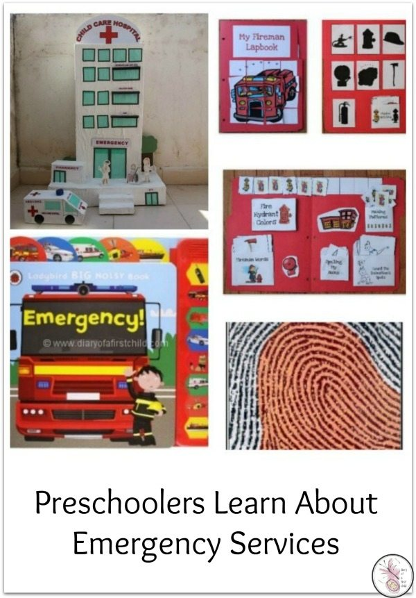 Preschoolers Learn About Emergency Services