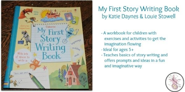 My First Story Writing Book {Book Review}