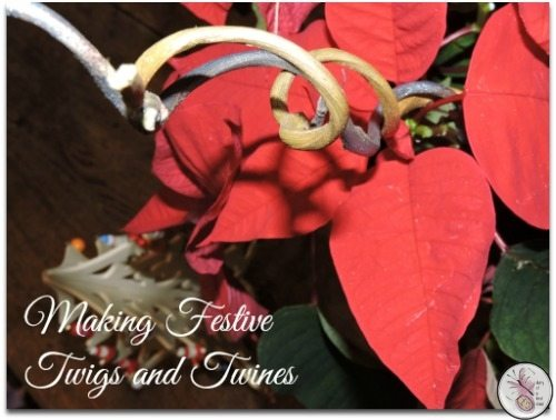 Making Festive Twigs And Twines