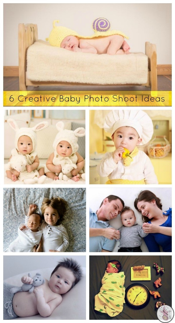 6 Creative Baby Photo Shoot Ideas