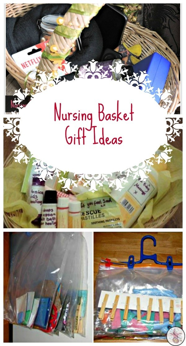 Nursing Basket Gift Ideas