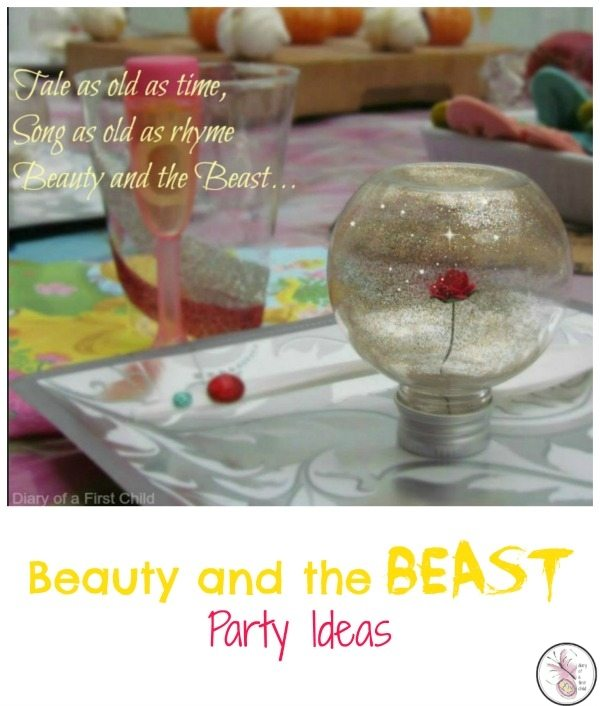Party Ideas For The Fantastic New Beauty And The Beast Movie