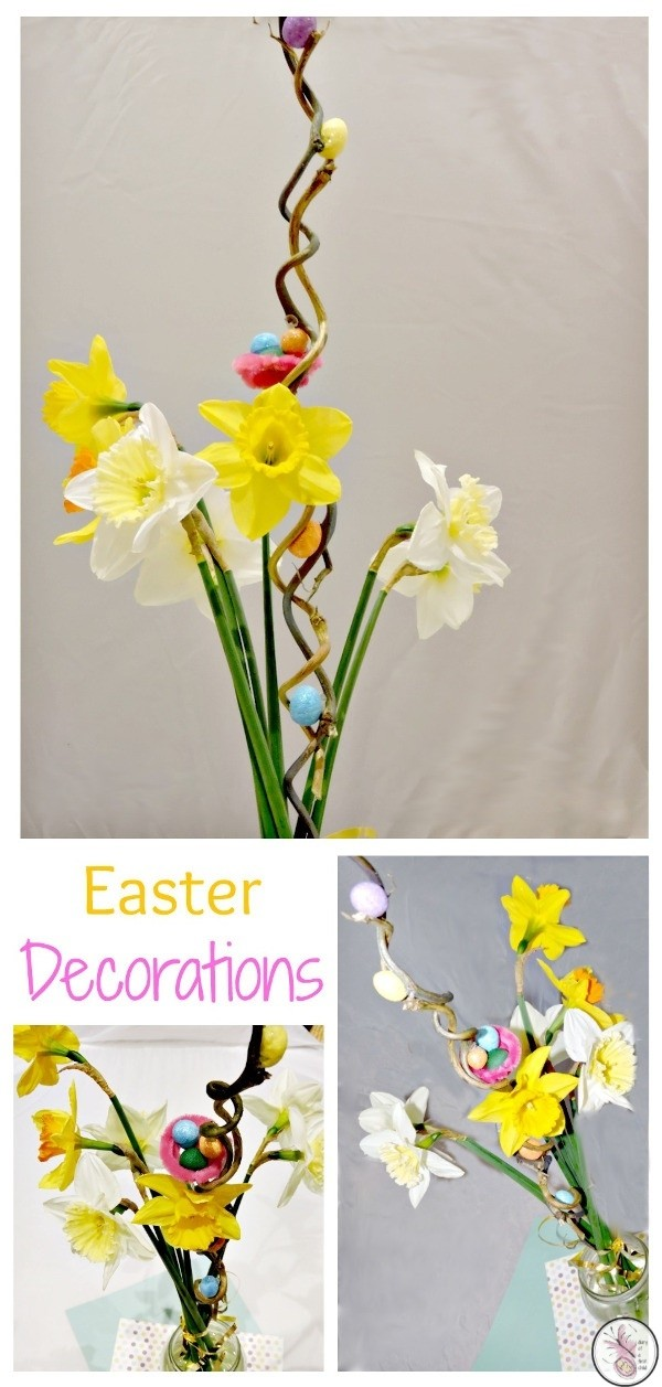 Easter Decorations #BostikBloggers