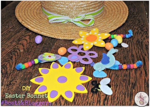 DIY Easter Bonnet #BostikBloggers
