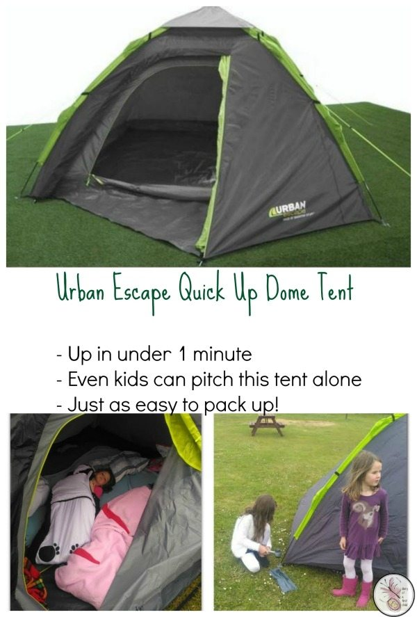 Super Simple Camping With An Urban Escape Quick Up Dome Tent