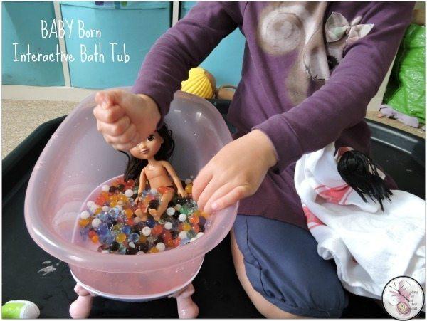 BabyBorn Interactive Bath Tub