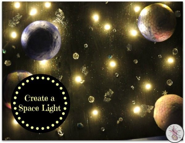 Create A DIY Space Light With #BostikBloggers