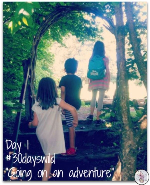 Going On An Adventure {#30DaysWild}