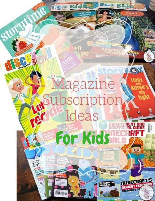 Magazine Subscription Ideas for Kids