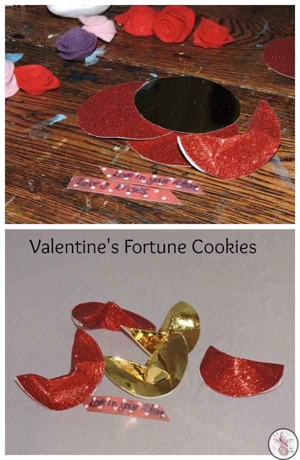 Valentine's Fortune Cookies