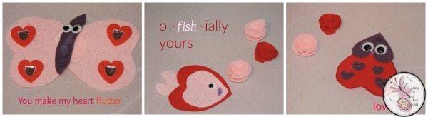 Valentine's heart bugs