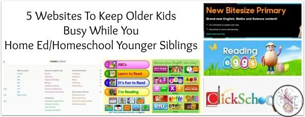 Websites To Keep Older Kids Busy