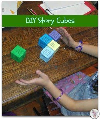 DIY Story Cubes