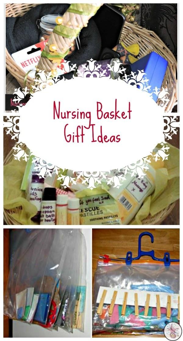 Nursing Basket Gift Ideas