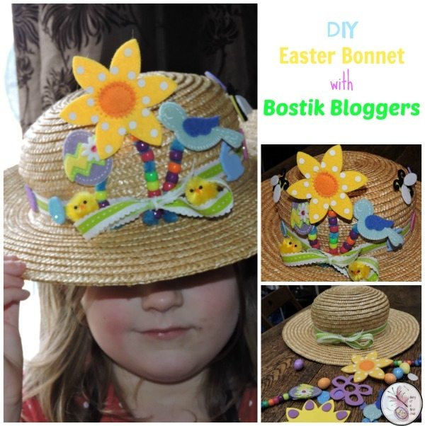 Diy Easter Bonnet Bostikbloggers Diary Of A First Child