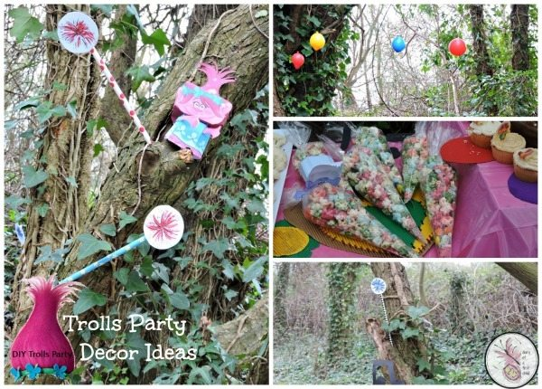 Trolls Party Decor Ideas