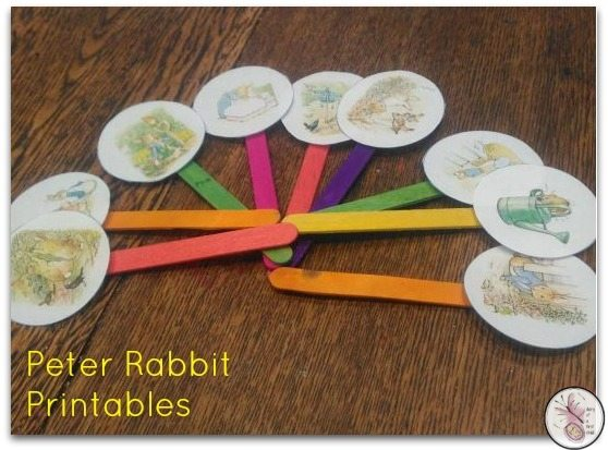peter rabbit printables