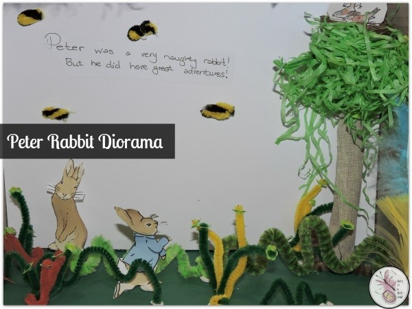 Peter Rabbit Diorama