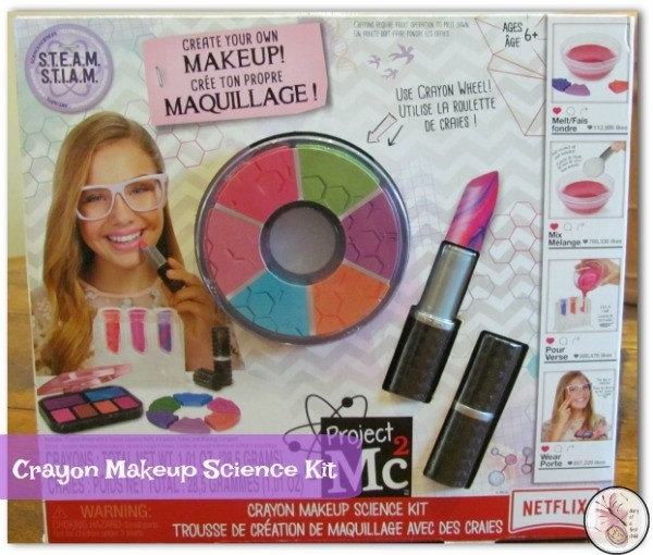 Crayon Makeup Science Kit