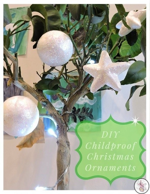DIY Childproof Christmas Ornaments