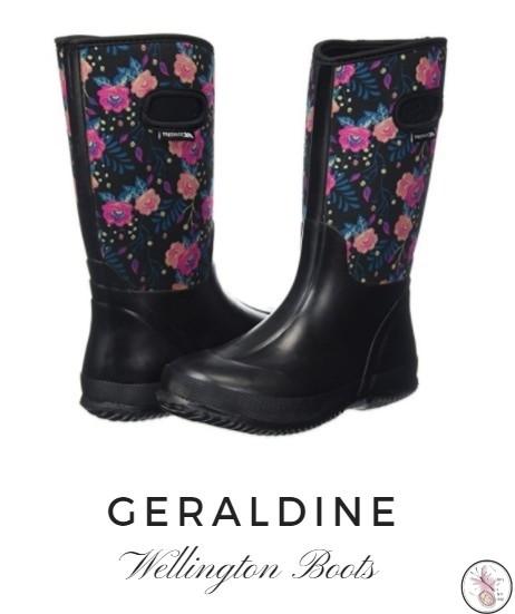 Geraldine Wellington Boots