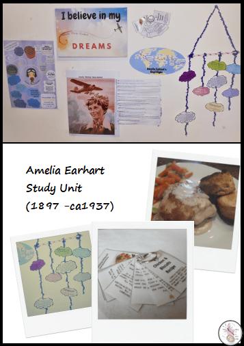 Amelia Earhart Study Unit Pic