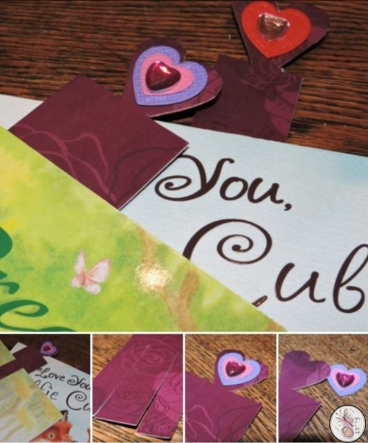Valentine's Day Book Marks
