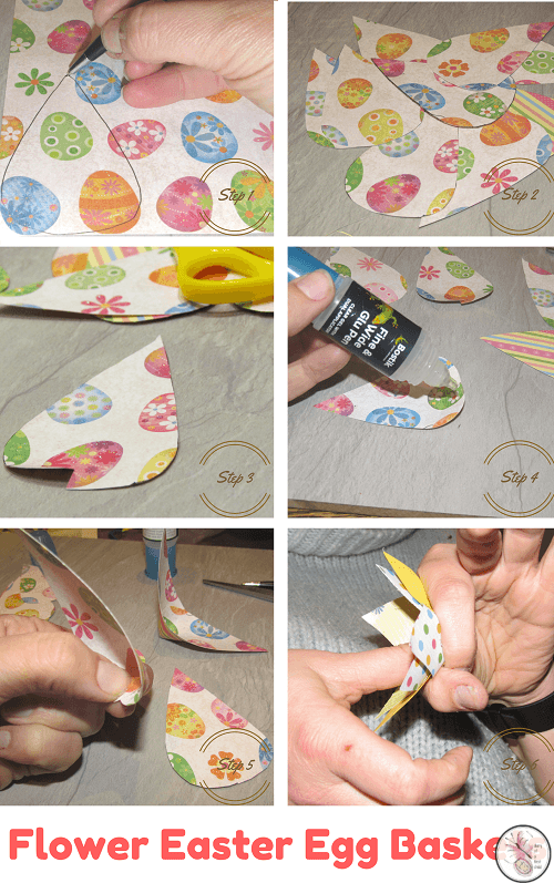 Flower Easter Egg Baskets