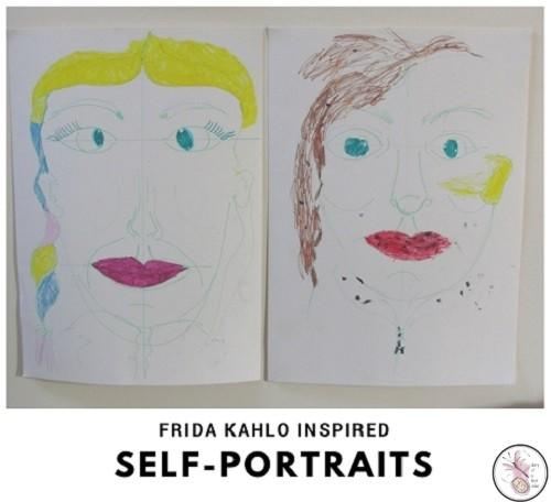 Frida Kahlo Inspired Self Portraits