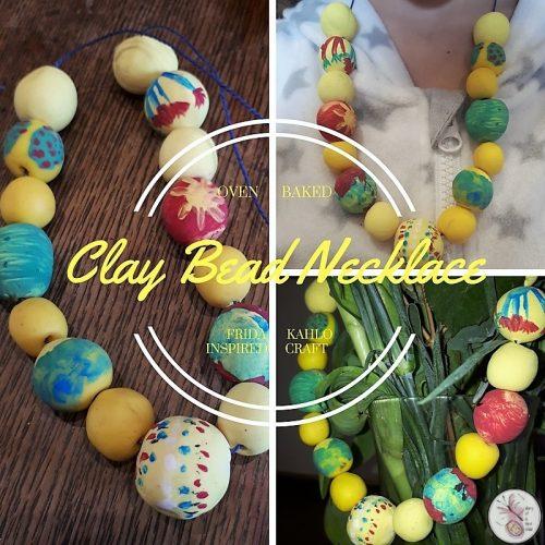Frida Kahlo Clay Beads