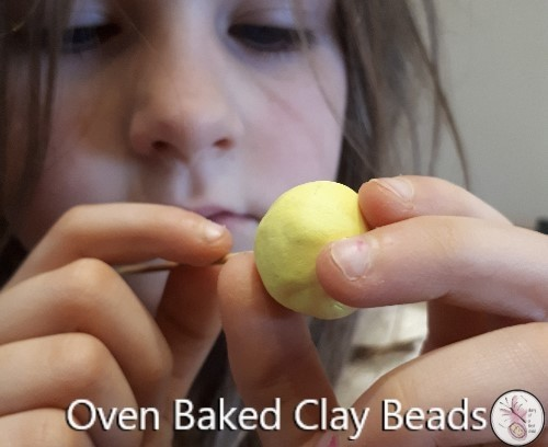 Oven Baked Clay Beads