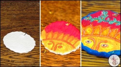 Sun Mexican Pendant