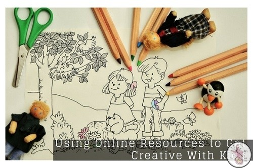 Using Online Resources to Get Creative With Kids