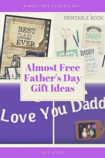 Almost Free Father's Day Ideas