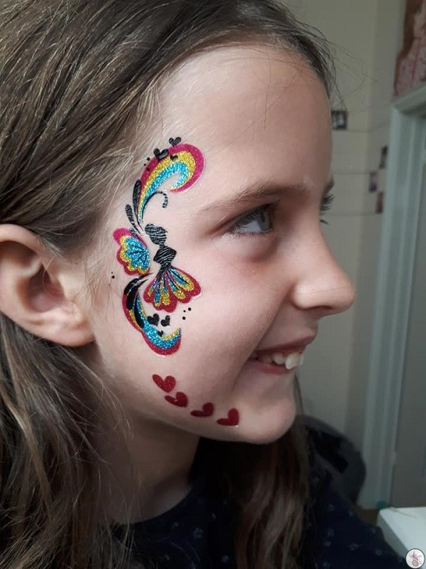Festival Face Tattoos