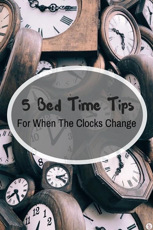 bedtime tips